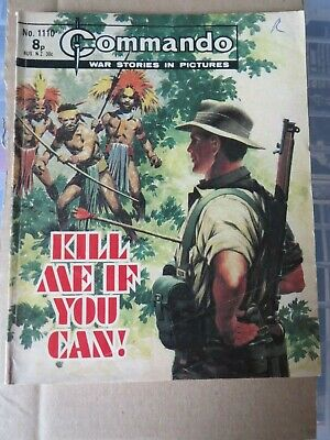 Commando Comic 1977 Kill Me If You Can • 10£