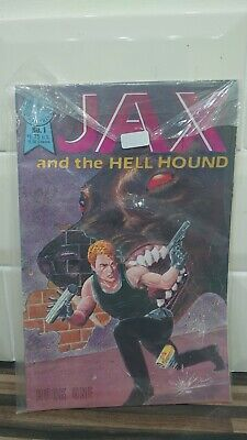 Comic Book Retro 1986 Jax And The Hell Hound Issue #1 • 24.99£