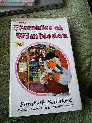 1974 THE  WOMBLES OF WIMBLEDON  STORY BOOK With D/J GOOD CONDITION.CHARITY ITEM  • 3£