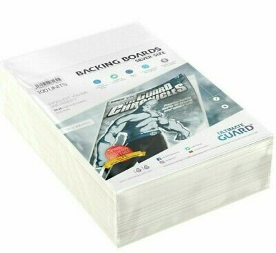 100 Units -Comic Book Backing Boards 178x266mm • 8£
