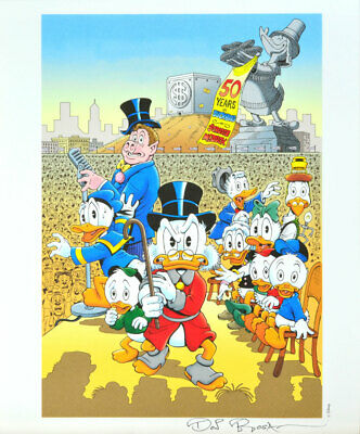 Don Rosa Lithografie / Lithograph - A Little Something Special Signed / Signiert • 34.82£