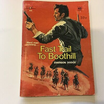 Sierra Western Comic - 495 - Fast Trail To Boothill • 14.95£