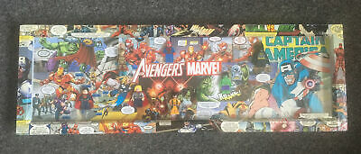 Marvel  Lego Figures Picture Découpage  Handmade Box.  Made From Original Comics • 9.99£