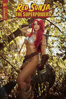 Red Sonja The Superpowers #1 Cvr E Lyons Cosplay • 2.95£