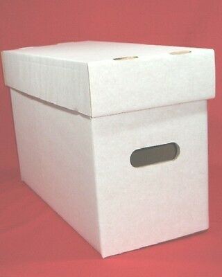 3 Compact Size American Comic Boxes - Marvel/DC - Each Hold Approx.200 Comics • 18.95£