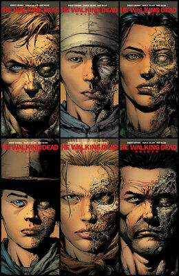 Image Comics The Walking Dead Deluxe #1-6 2nd Print Variant Set  • 24.95£