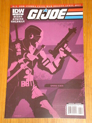 G.i. Joe #27 Ri Cover 2011 Idw Tom Whalen • 7.99£