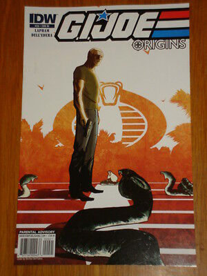 G.i. Joe Origins #20 Ri Cover 2010 Idw Werther Dell'edera • 7.99£