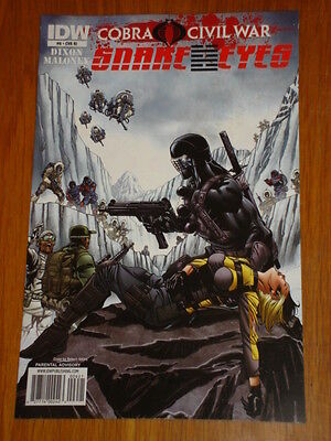 G.i. Joe Snake Eyes #6 Ri Cover 2011 Idw Robert Atkins • 8.99£