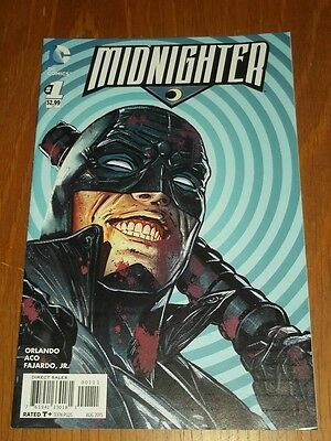 Midnighter #1 Dc Comics August 2015 • 2.30£
