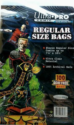 Ultra Pro Comic Bags Regular Size (100 Stück) • 5.17£