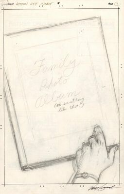 Action Comics #655 7 Page Pencil Layouts - Ma Kent's Album 1990 By Kerry Gammill • 399.11£