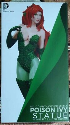 Poison Ivy Statue DC Comics Cover Girls 9.7  Artgerm Numbered 3568/5200 • 189.99£