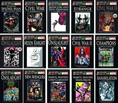 Marvel Ultimate Graphic Novel Collection Hc Issue 129 204 207 208 209 212 213 • 10.99£