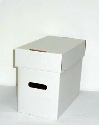 5 Short Comic Storage Boxes (comicare) - Hold 150 Comics Each (supply124) • 28£