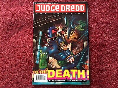 2000AD: JUDGE DREDD THE  MEGAZINE Issue Prog No 17 1992 Rare Fleetway • 1.99£