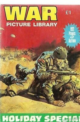 War Picture Library Holiday Special,ron Phillips,1989 • 0.99£