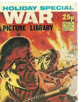 War Picture Library Holiday Special,ipc Magazine,1976 • 0.99£
