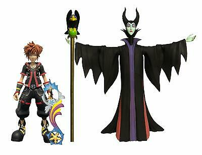 Kingdom Hearts 3 Select Maleficent & Sora Action Figure • 28.99£