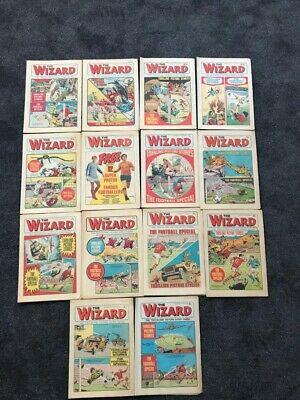 The Wizard Bundle Of 14 (1971) • 35£