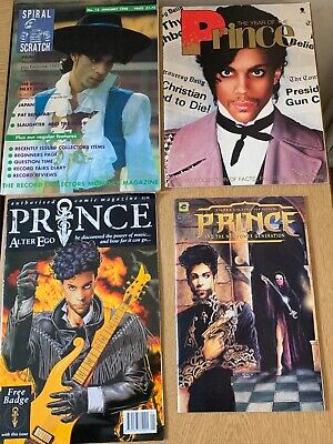 PRINCE Memorabilia Mixed Job-Lot - CDS - VINYLS - BOOKS - TOUR BOOKS - Used  • 99.99£