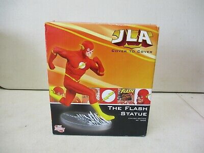 DC Direct JLA Cover To Cover The Flash Statue 1 Of 1900 • 28.60£