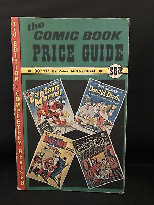 Overstreet Comic Book Price Guide #3, 1973,  Vg  • 73.35£