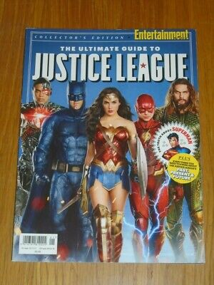 Justice League Ultimate Guide To Collector's Edition 2017 Batman Uk Magazine< • 9.99£