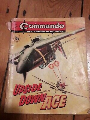Commando Comics #572 Upside Down Ace 1971 • 2.50£
