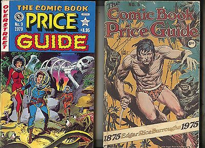 No. 5 (1975) + 9 (1979) Overstreet Price Guide  • 30.52£