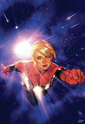Life Of Captain Marvel #1 Hughes Poster Brand New Unopened • 17.88£