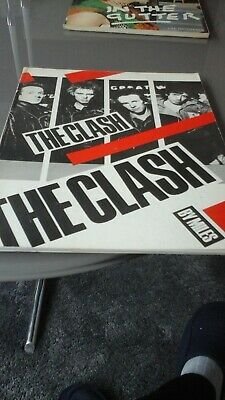 The Clash By Miles Book • 3.99£