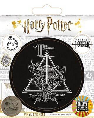Pyramid Harry Potter (Symbols) Vinyl Sticker Pack • 3.45£