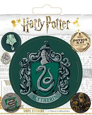Pyramid Harry Potter (Slytherin) Vinyl Sticker Pack • 3.45£