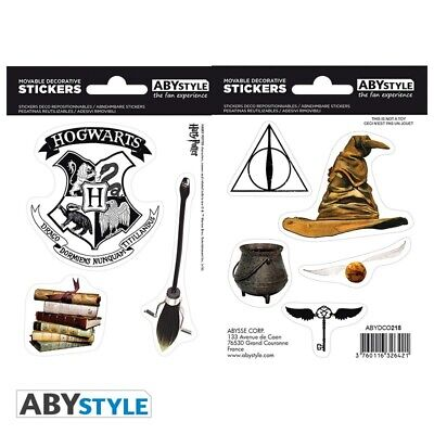 Abyssecorp Harry Potter Magical Objects Sticker Pack • 4.60£