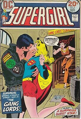 DC Comic SUPERGIRL 6 First Series 1972 NICE CONDITION • 4.99£
