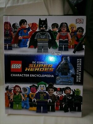 LEGO DC SUPER HEROES ENCYCLOPEDIA WITH BATMAN FIGURE New And Unused Item • 6.75£