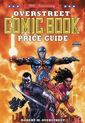 OVERSTREET 2020 2021 COMIC BOOK PRICE GUIDE 50 SOFTCOVER Valiant Heroes Cover SC • 23.15£