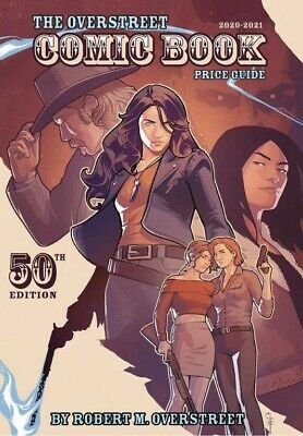 OVERSTREET 2020 2021 COMIC BOOK PRICE GUIDE 50 SOFTCOVER Wynonna Earp Cover SC • 22.49£