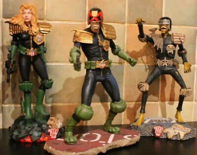 Judge Dredd - Judge Death - Judge Anderson Statues Rebellion/Harrop • 99£