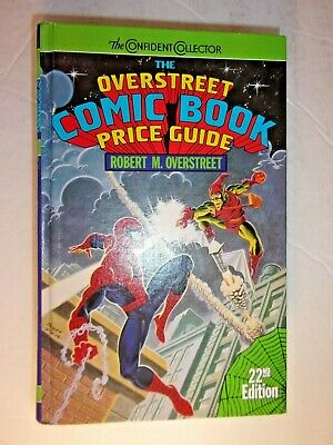 Overstreet The Comic Book Price Guide No. #22  HARDCOVER • 31.54£