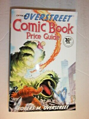 Overstreet The Comic Book Price Guide No. #31  PAPERBACK • 5.86£