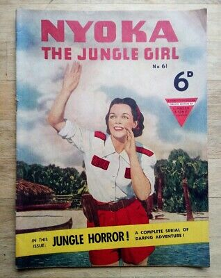 Nyoka The Jungle Girl Comic No. 61 From 1951 - UK Issue • 11.99£