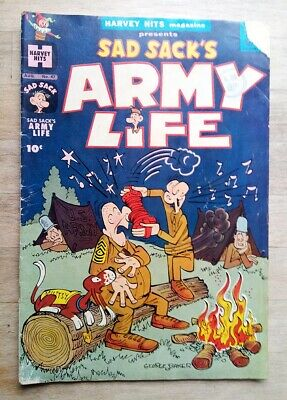Sad Sack's Army Life Comic No. 47 From 1961 - By Harvey Hits • 1.99£