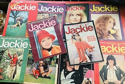 Vintage Jackie Magazines , All Incompleat X10 Copies ,earlie 1970s  • 0.99£