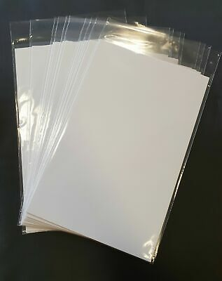 10 X Current Age Polyethylene Comic Bags And Backing Boards (new) Free Delivery • 3.89£