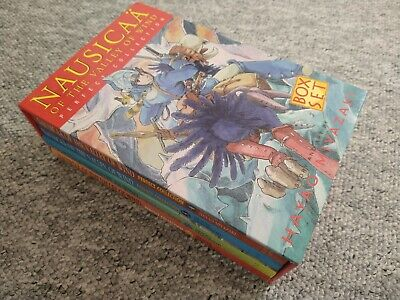 Nausicaa Of The Valley Of Wind Perfect Collection Graphic Novels Complete Set • 20£