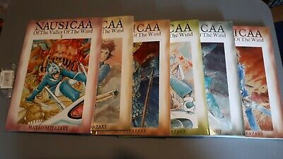 Nausicaä Of The Valley Of The Wind Volumes 1-6 Paperback • 10£