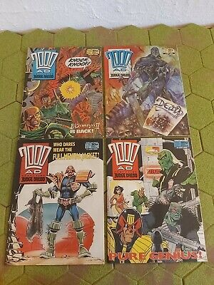 2000AD 4 X Progs 576 To 579 Good Condition  • 4.99£