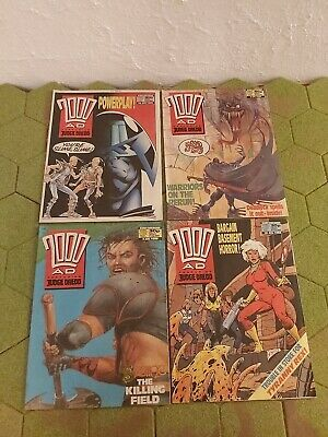 2000AD 4 X Progs 580 To 583 Good Condition  • 4.99£